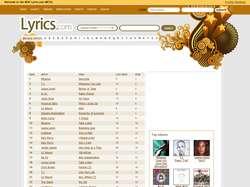 lyricscom